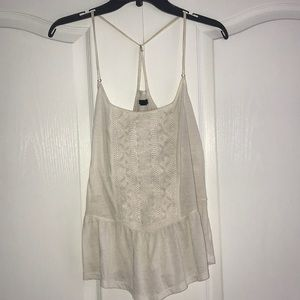 American Eagle White Colored Flowy Design (Medium)